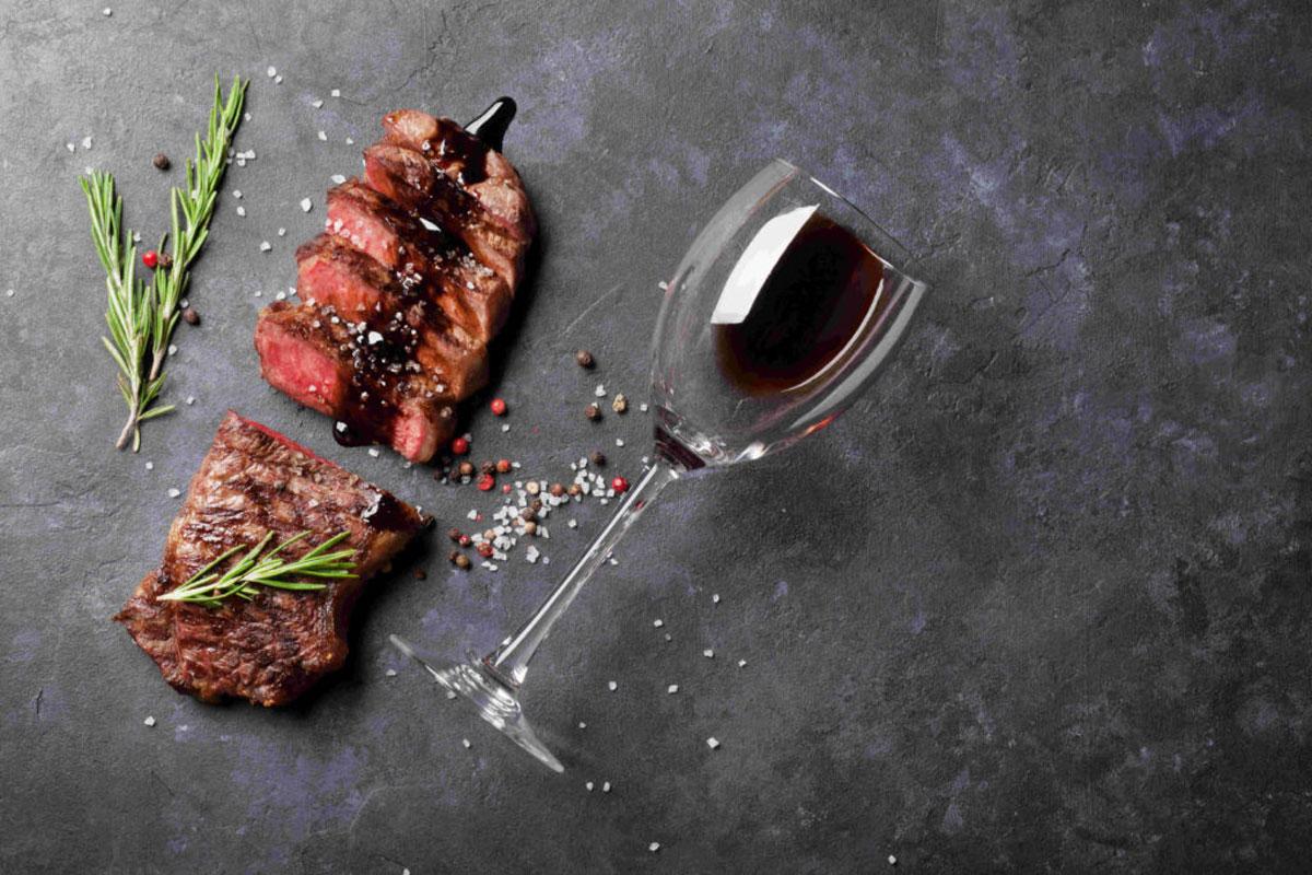 Wein und Grill