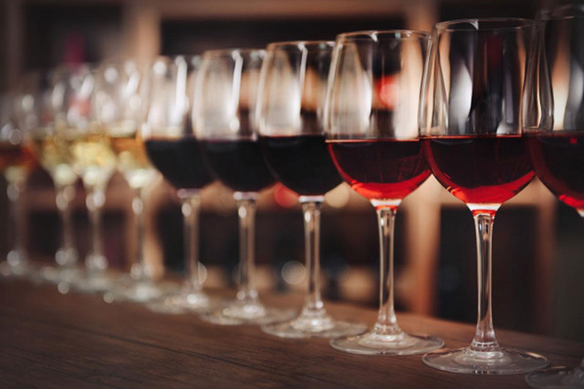taste the wine in der kochwerkstatt
